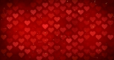 Grid of Hearts - HD Video Background Loop